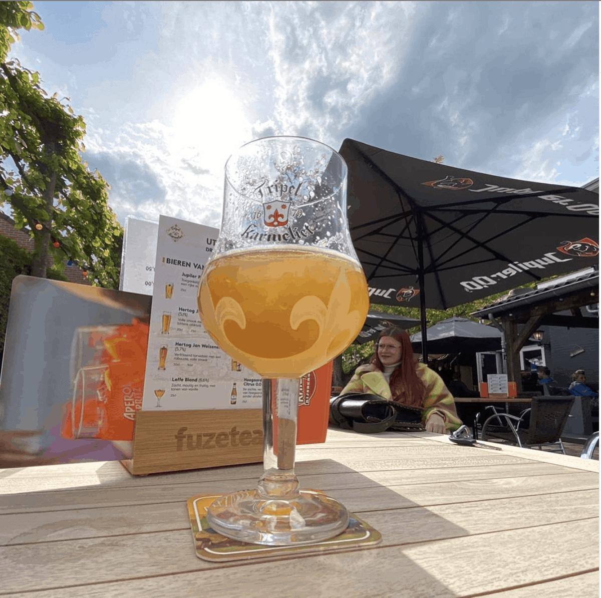 bier en zon ut krisje