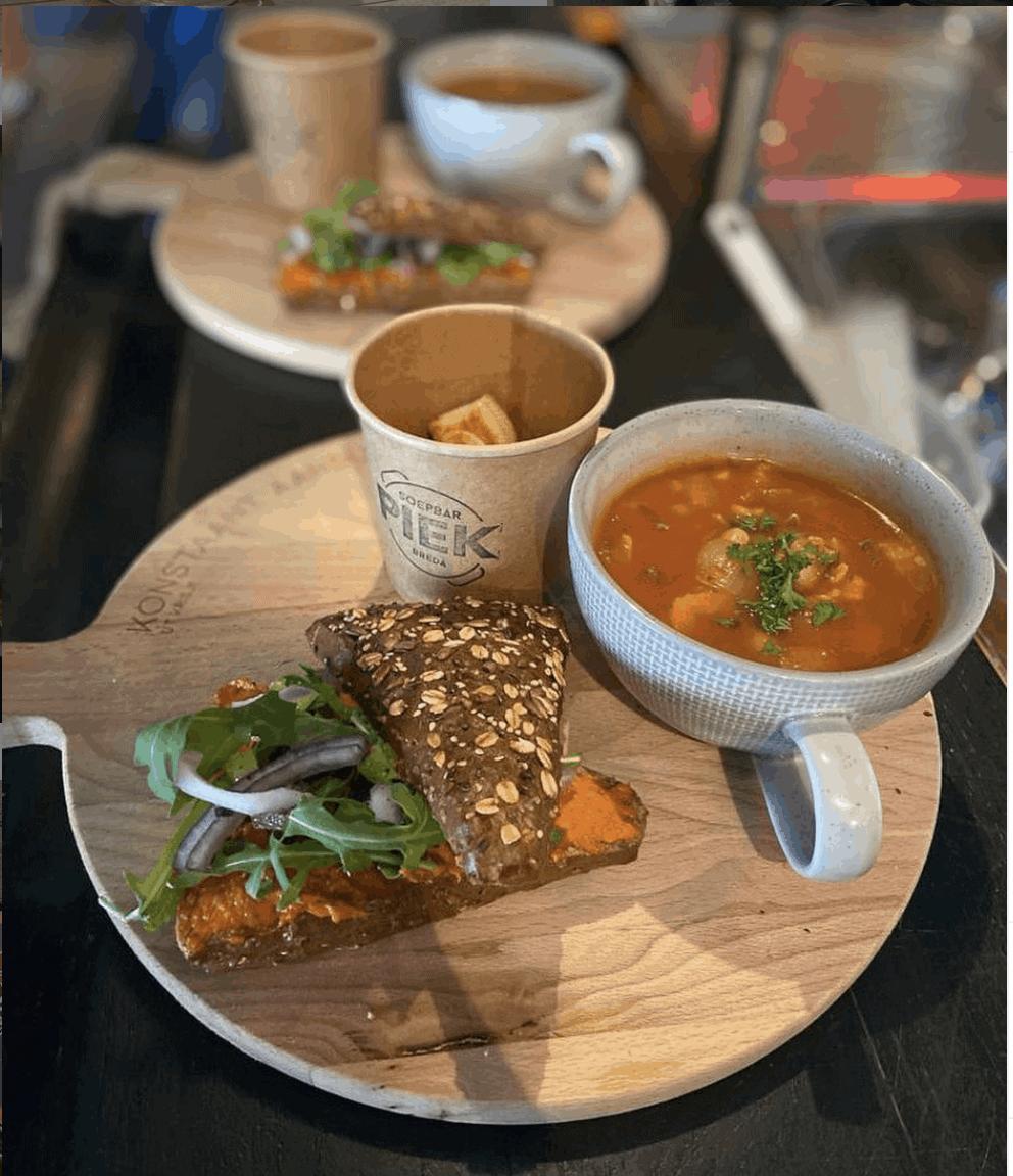 lunch ut krisje